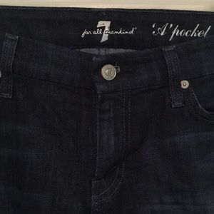 """Women's 7 for all Mankind """"A"""" pocket jeans"""